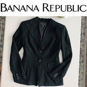 Banana Republic Blazer Size 4 Stretch
